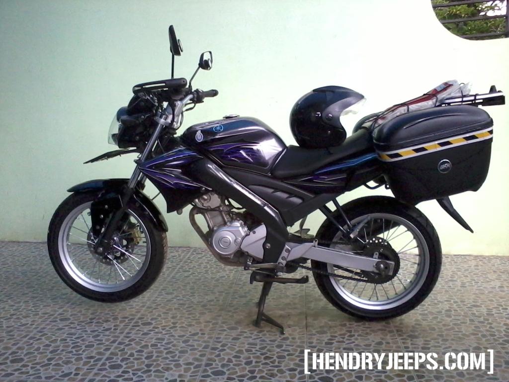 Pasang Tromol Kawasaki KLX 150 Di Yamaha Vixion Bag 2 HendryJeeps